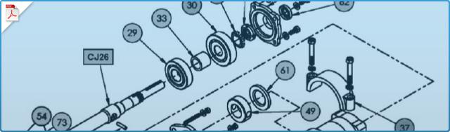 CJ8 Pump Replacement Parts