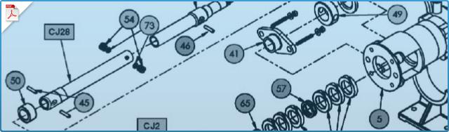 CJ6 Pump Replacement Parts