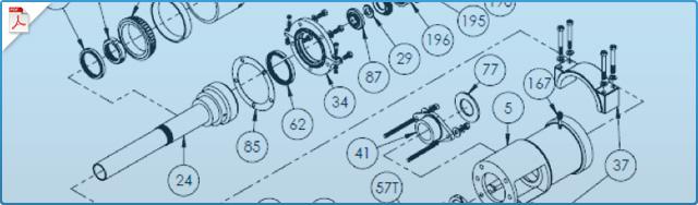 CG12 & CG12H Pump Replacement Parts