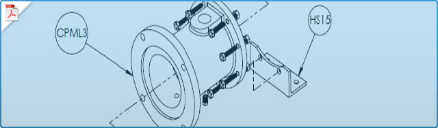 CPML Pumps Close-Coupled with Standard Motor